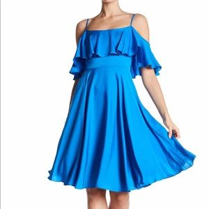 Milly Emmaline Dress In Blue NWT